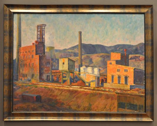 1967, oil on canvas, 108 x 80 cm