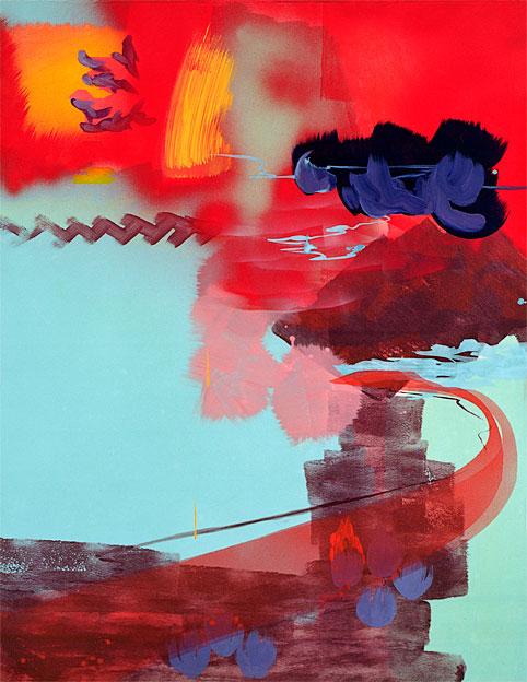 acrylic on canvas, 164 x 120 cm