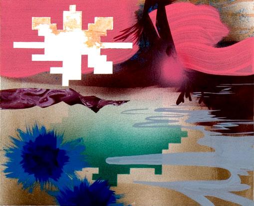 acrylic on canvas, 28 x 36 cm