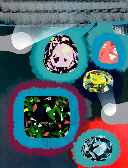 acrylic on canvas, 157 x 142 cm